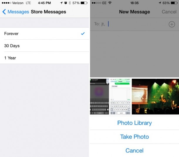 messages iOS8