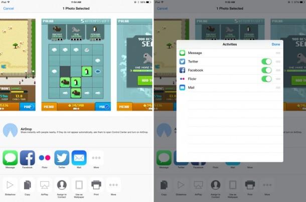 sharescreen iOS8