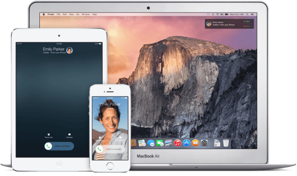 iOS8 handoff and Continuity 1