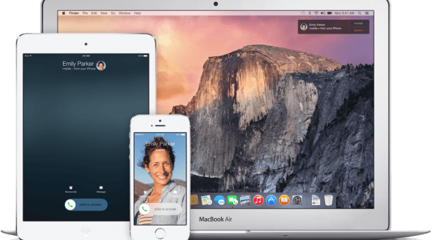 iOS8 handoff and Continuity 1