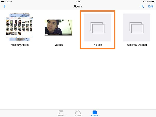 iOS8 Hidden Features - Hide Photo 2