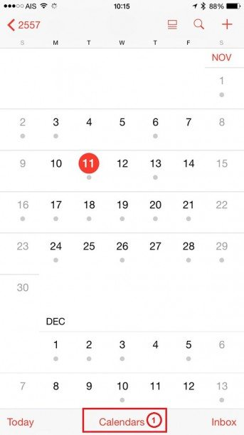 How to unsubscribe Calendar 1