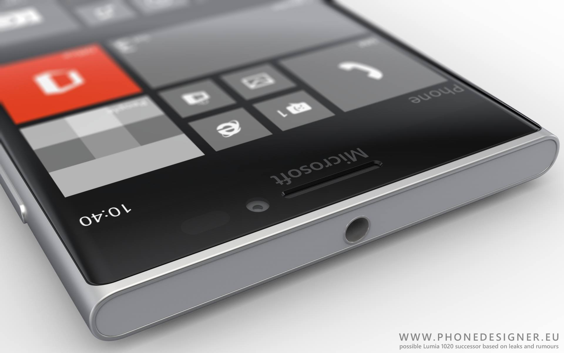 คอนเซ็ป Nokia Lumia 1030 จะใช้บอดี้เป็นอลมิเนียมและ Pureview