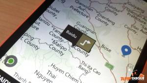 Baidu  HERE maps