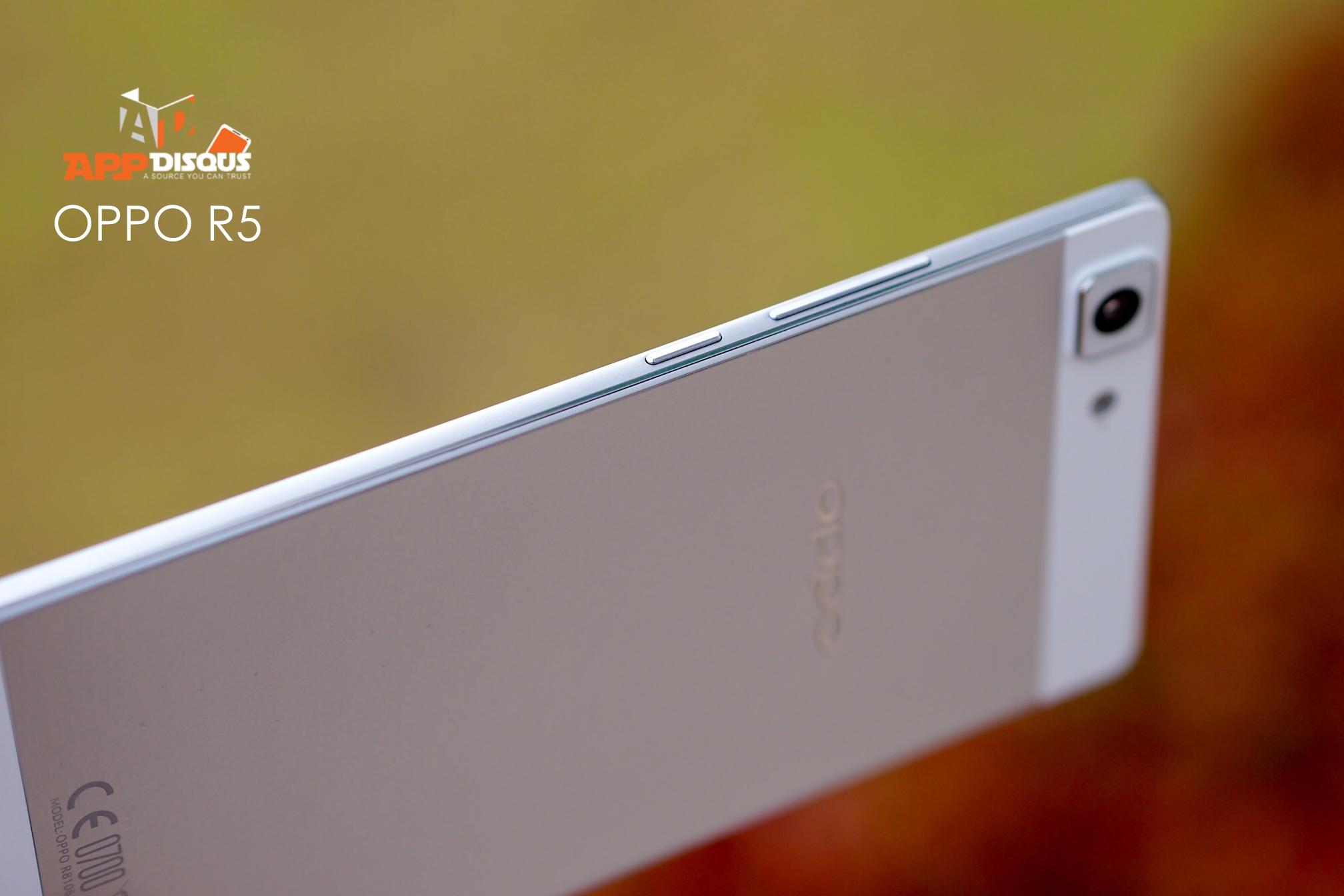 รีวิว Oppo R5