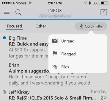 outlook-for-ios-quick-filter