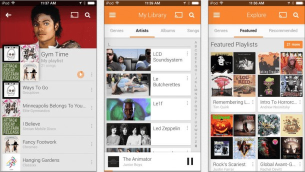 Google-Play-Musicd