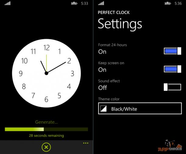 Perfect Clock Screen_1