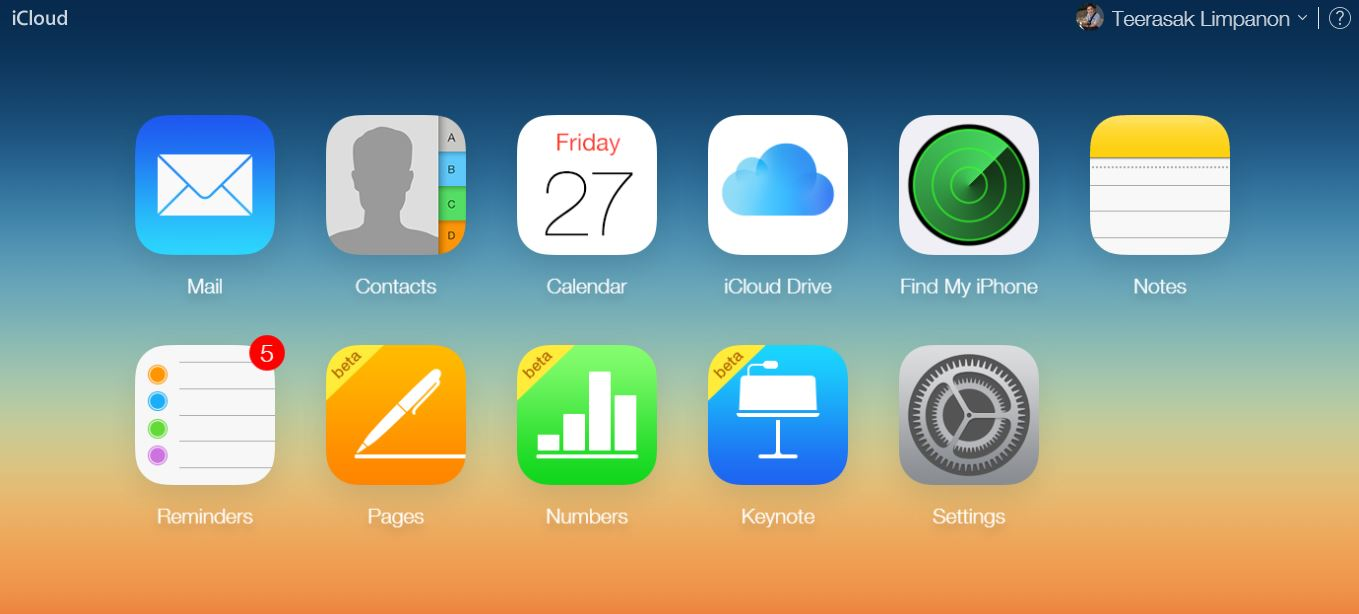 icloud service official launch