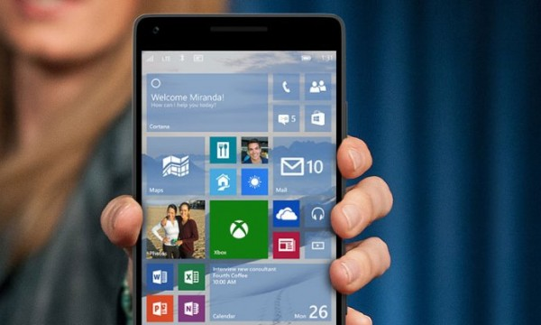 Windows 10 TP for phone