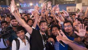 Microsoft 10 launch in New Delhi on July 29, 2015. Photograph by Prashant Panjiar