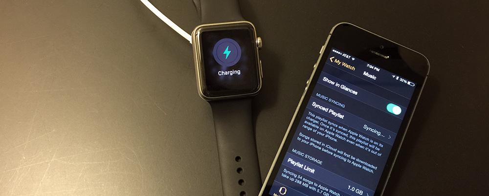 โอนเพลงเข้า Apple Watch