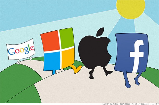apple google and microsoft essay More than any other american companies, apple, inc (nasdaq: aapl),  microsoft corporation (nasdaq: msft) and google, inc (nasdaq: googl).