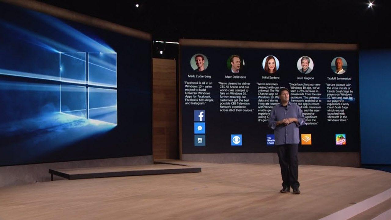 และแล้วก็มา Microsoft จับมือ Facebook ทำแอพ Universal ลง