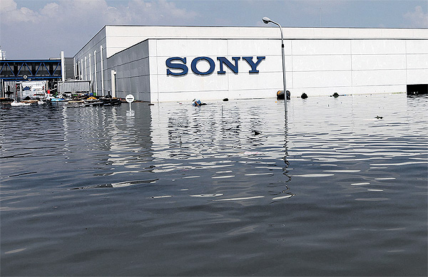 Sony Thailand Flooded 322073