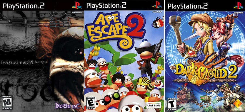 PS2 games on PS4