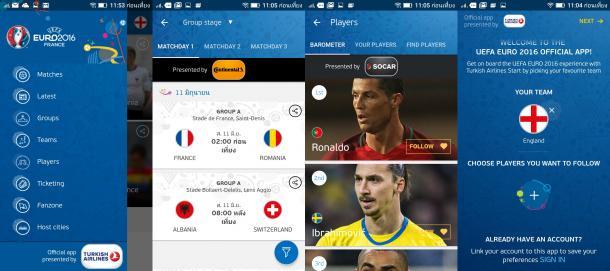 Euro 2016 appdisqus