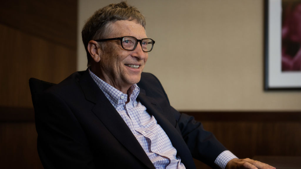 Bill Gates now use Android