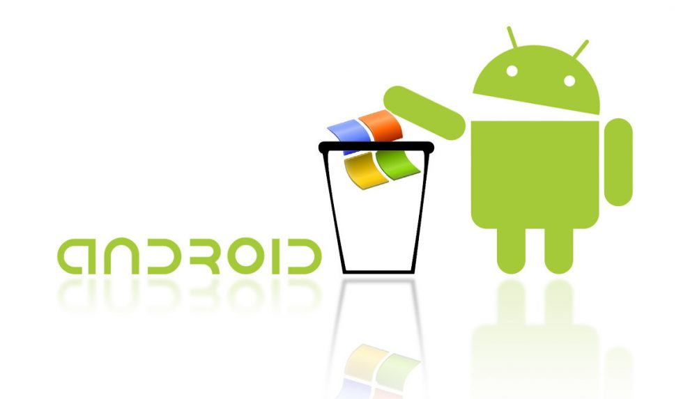 Android wins Windows Mobile