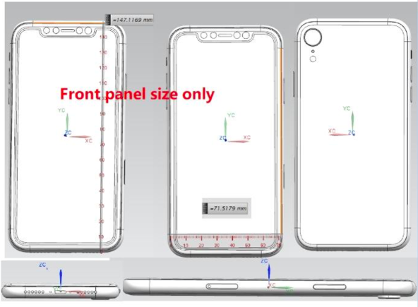iPhone 6.1 Inches schematic