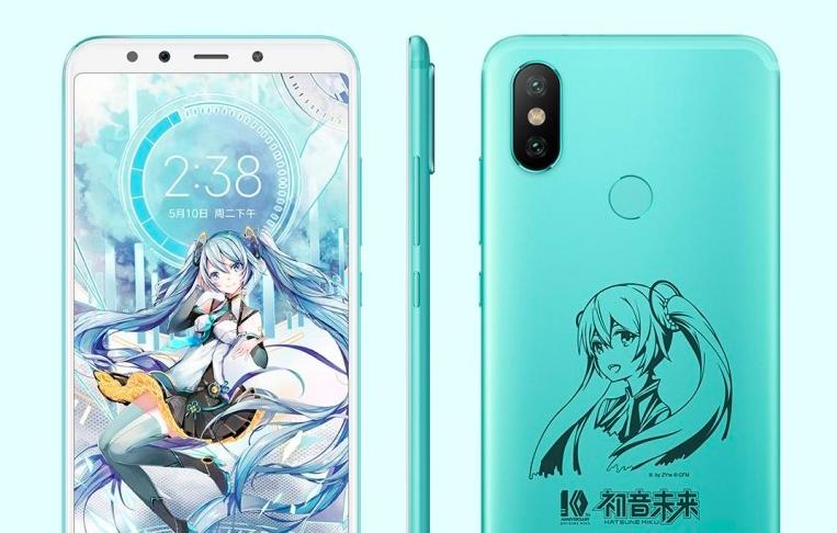 Xiaomi Mi6X Hatsune Miku Special Edition
