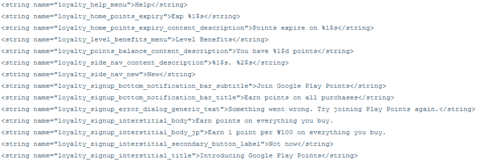code-string-google-play-points