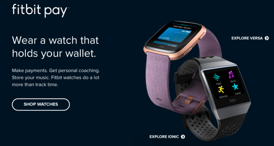 Fitbit Pay Thailand