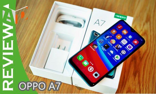 รีวิว OPPO A7 จอใหญ่สุดขอบ แบตอึดสะใจ สวยพรีเมี่ยมพร้อมกล้องคู่ ในราคาไม่แพง