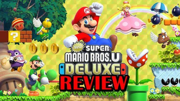 [รีวิวเกม] New Super Mario Bros. U Deluxe การกลับมาอีกครั้งของมาริโอ 2 มิติ
