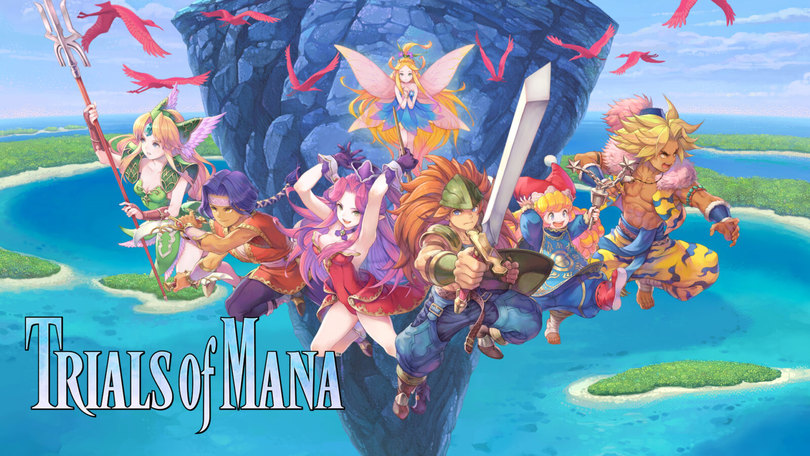 Trials of Mana iOS and Android Released